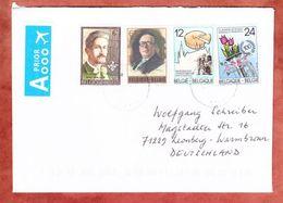 Brief, MiF Lemaire U.a., Drongen Nach Leonberg 2015 (45758) - Briefe U. Dokumente