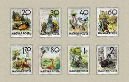 Hungary 1960. Folk Tales / Fable Nice Set MNH (**) Michel: 1718-1725 / 5.50 EUR - Ungarn