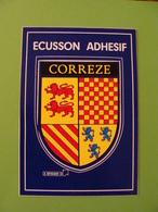 Blason écusson Adhésif Corrèze - France