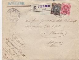 Brief Von Fermo Nach Bern (br2471) - 1900-44 Vittorio Emanuele III