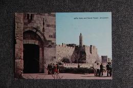 JERUSALEM - JAFFA Gate And DAVID Tower. - Israel