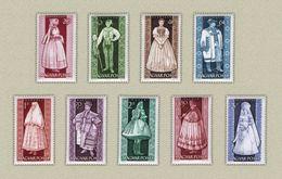 Hungary 1963. Costumes Nice Set MNH (**) Michel: 1954-1962 / 7.50 EUR - Kostüme