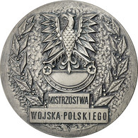Pologne, Medal, WOSF, Sports Militaires, Wojska.Polskiego, SUP+, Silvered Bronze - Tokens & Medals
