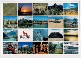 PERU'   IMAGENES  DEL  PAIS      MULTIVEDUTE     (VIAGGIATA) - Perù