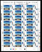 FEUILLE FRANCE VENEZ PARTAGER PARIS VILLE HOTE JEUX OLYMPIQUES 2024 SURCHARGE LIMA PEROU JO OLYMPIC GAMES OG TOUR EIFFEL - Neufs