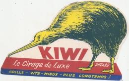 ---- BUVARD ---  Le Cirage De Luxe KIWI  (buvard Forme Découpe) - Chaussures