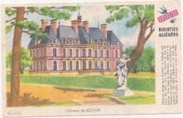 ---- BUVARD --- Petit Buvard Château De Sceaux TTB - Biscottes