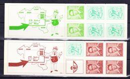 België Kleine Verzameling Boekjes Nr 8/9 **, Zeer Mooi Lot K593 - Timbres