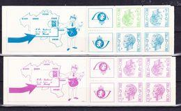 België Kleine Verzameling Boekjes Nr 10/11 **, Zeer Mooi Lot K595 - Carnets 1953-....