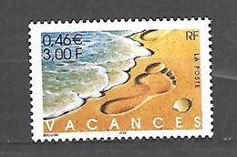Fg 131  France N° 3399 N++ Sans Bandes De Phosphore - Curiosités: 2000-09 Neufs