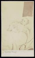 CDV Photo 1860s Child Post Mortem, Gand (2805) - Photos