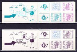 België Kleine Verzameling Boekjes Nr 12/13 **, Zeer Mooi Lot K597 - Carnets 1953-....
