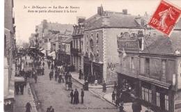 44 - Saint Nazaire - La Rue De Nantes Dans Sa Partie Aboutissant A La Gare - Saint Nazaire