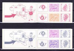 België Kleine Verzameling Boekjes Nr 14/15 **, Zeer Mooi Lot K598 - Carnets 1953-....