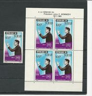 TCHAD  Scott C20, C20a Yvert PA24, BF2 (1+bloc) ** Cote 14,40$ 1964 - Tchad (1960-...)