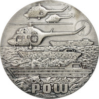Pologne, Medal, WOSF, Sport Militaire, Hélicoptères, TTB+, Silvered Bronze - Tokens & Medals