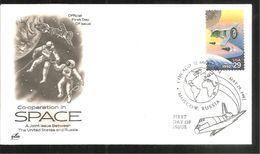 SPACE - Ersttagsbelege (FDC)