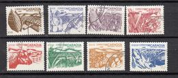 Nicaragua 1986 Mi Nr 2668 - 2675 Landbouw, Mais, Animal, Banaan - Nicaragua