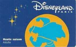 PASS--DISNEY-DISNEYLAND PARIS-1998-HERCULE ADULTE-V° SerieN°98032H-TBE - France