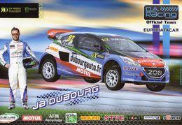 FIA World Rallycross Championship 2017  -  Jean Baptiste Dubourg  -  #87  -  Peugeot WRX  -  Carte Promo - Rallyes