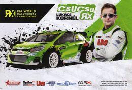FIA World Rallycross Championship 2017  -  Lukacs Kornel  -  #10  -  Csucsu WRX  -  Carte Promo - Rallyes
