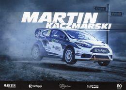 FIA World Rallycross Championship 2017  -  Martin Kaczmarski  -  #69  -  Ford Fiesta R5  -  Carte Promo - Rallyes
