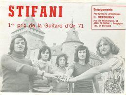 Fleron Stifani 1er Prix De La Guitare D'or 71 - Fléron
