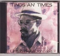 CD LINTON KWESI JOHNSON Etat: TTB Port 110 Gr Ou 30gr - Reggae