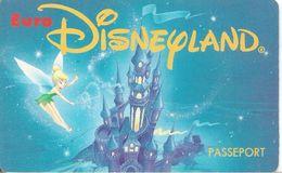 PASS-EURODISNEYLAND-1994-FEE CLOCHETTE-VGS-00004-TBE - Pasaportes Disney