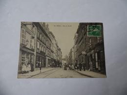 Cpa  Sedan  Rue Du Mesnil Animée  1914 - Sedan