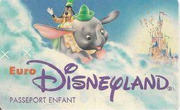 PASS-EURODISNEYLAND-1994-DUMBO-VGS-00045-TBE - Pasaportes Disney