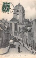 61 - Alençon - L'Abside De Notre-Dame - Belle Animation - Alencon