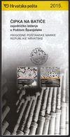 Croatia 2015 / Prospectus, Leaflet, Brochure / Bobin Lace / Lepoglava And Seville Lace / Joint Issue With Spain - Kroatië