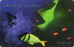 *TURKS & CAICOS - 108CTCB* - Scheda Usata - Turks And Caicos Islands