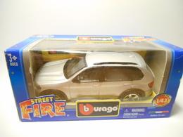 BURAGO 1:43 STREET FIRE BMW X5 - Burago