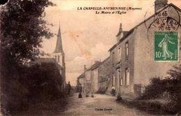 Mayenne - La Chapelle Anthenaise - La Mairie Et L'Eglise - France
