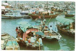HONG KONG - FLOATING PEOPLE IN CASTLE PEAK BAY, N.T. - Cina (Hong Kong)