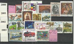 """Österreich 2303...2434 """"20 Briefmarken Aus Diesem Zeitraum 2000-2003"""" Gestempelt. Mi.: 26,40 - 1945-.... 2ème République"""