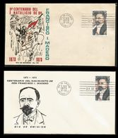 L) 1973 MEXICO, FRANCISCO MADERO, 1873-1973, CENTENARY OF HIS BIRTH, PRESIDENT, POLITICAL, PEOPLE, HORSE, AIR MAIL, SET - Mexico