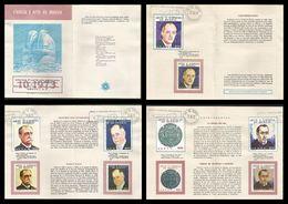L) 1973 MEXICO, SCIENCE AND ART, LUIS ENRRIQUE ERRO, POLITICAL, ASTRONOMER, FRANCISCO DIAZ COVARRUBIAS, JOAQUIN GALLO,OB - Mexico