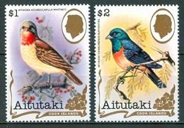 1982 Aitutaki Uccelli Birds Oiseaux Set MNH** Ye73 - Aitutaki