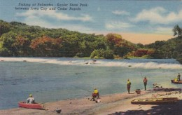 Iowa Cedar Rapids/Iowa City Fishing At Palisades Kepler State Pa