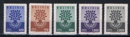 Bolivie Y/T LP 189 / 193 (**) - Bolivie