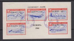 Guernsey SARK Europa 1966 Miniature Sheet - Superb Fine Used - Guernsey