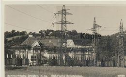 AK  Gresten, Elektr. Schaltstation 1930er - Autriche