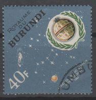 BURUNDI N° 167 O Y&T 1965 Année De La Coopération Internationale - Burundi