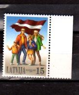 1999 Latvia - Tenth Anniversary Of The Baltic Chain -1v  - Mi 506 - MNH** (bsh) - Lettland
