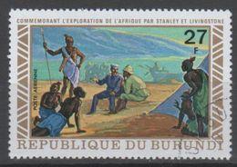 BURUNDI N° PA 267 O Y&T 1973 Exploration De L'Afrique Par Stanley Et Livingstone - Burundi