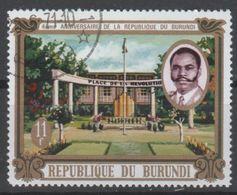 BURUNDI N° 425 O Y&T 1970 Place De La Révolution - Burundi