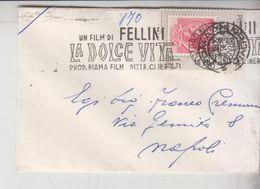 TARGHETTA FELLINI LA DOLCE VITA - 6. 1946-.. Repubblica